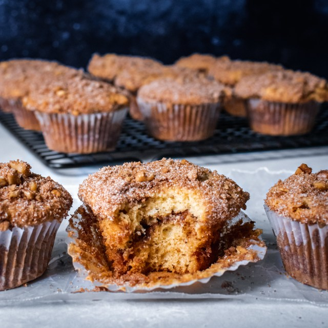 brown butter cinnamon crumb coffee cake muffins