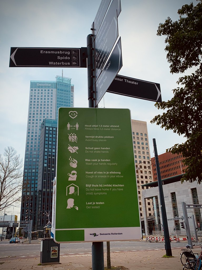 Rotterdam Daily Photo: Signs and signs of the times