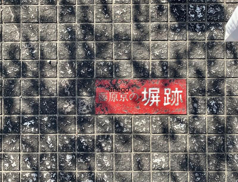 藤原宮跡 塀