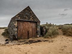 Old boathouse at Llanddwyn