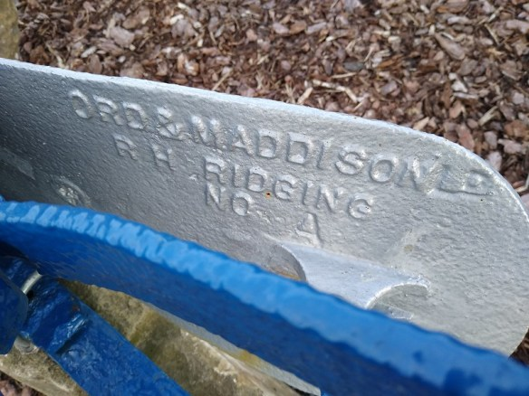 Ord and Maddison Plough, Ings Farm