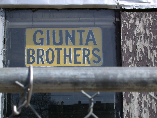 The Demolition of Giunta Brothers