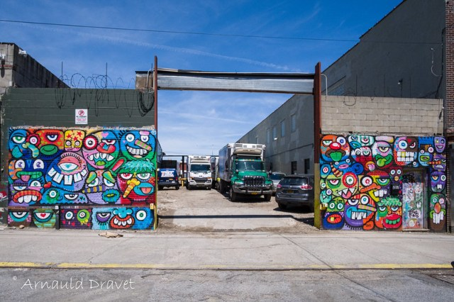 StreetArt @ Brooklyn, NY (Montrose Ave. & Meserole Ave.) - Kings County, New York, États-Unis - 11/05/2018 12h34
