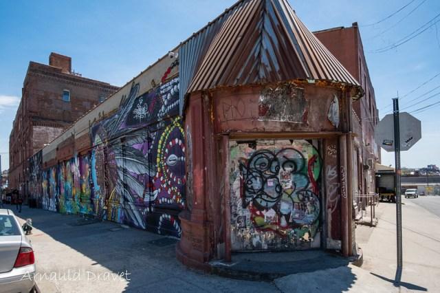 StreetArt @ Brooklyn, NY (Montrose Ave. & Meserole Ave.) - Kings County, New York, États-Unis - 11/05/2018 12h24