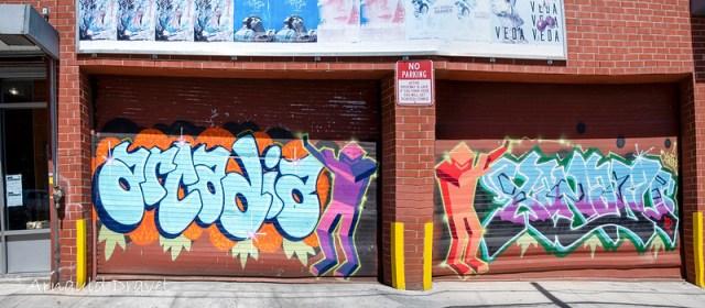 StreetArt @ Brooklyn, NY (Montrose Ave. & Meserole Ave.) - Kings County, New York, États-Unis - 11/05/2018 12h29