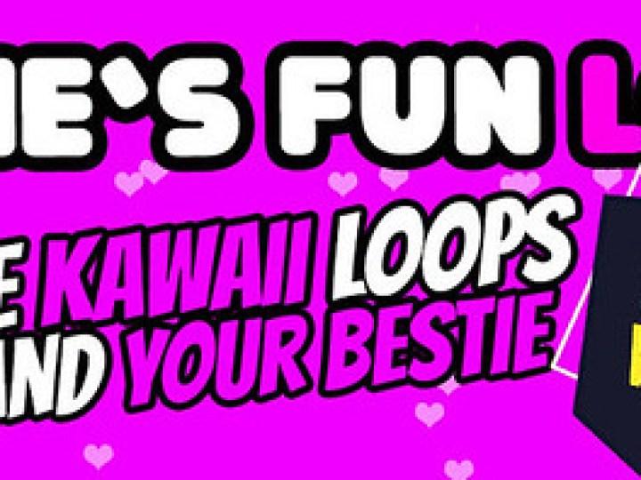 HAPPY WEEKEND - 60L$ GIRLS KAWAII LOOP DANCES NOW@ MOVE!