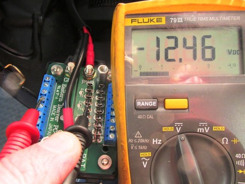 Ignition On-Switched Circuits On