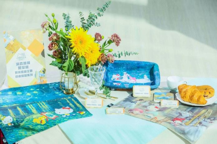 顧客於場內消費滿指定金額,更可換領限量版MOSTown x Sanrio characters Christmas Galleria藝術盛宴主題餐桌精品系列
