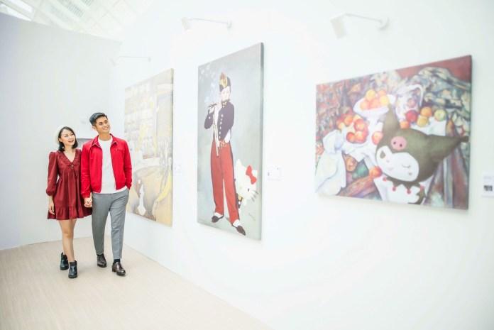 適逢 Sanrio 60週年,特意邀請法國著名博物館組織RMN 授權代理台灣文藝團隊Seven Apex,挑選多位世界藝術大師的經典作品與Sanrio characters聯乘