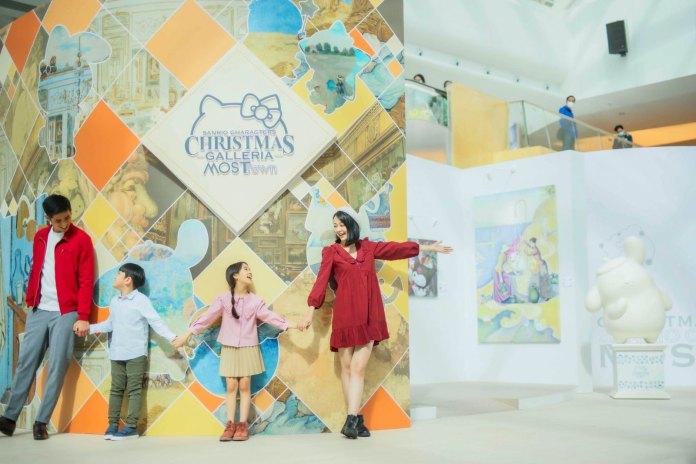 全球首度合作將 Sanrio 大熱角色融匯於19件博物館內的名畫及藝術作品當中,親臨感受不一樣的文藝聖誕
