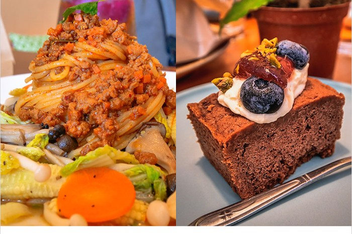 台中北屯蔬食   哥文達手作瑜珈蔬食,推薦泰式打拋義大利麵,手作漢堡,美味健康兼具,也是寵物友善餐廳。