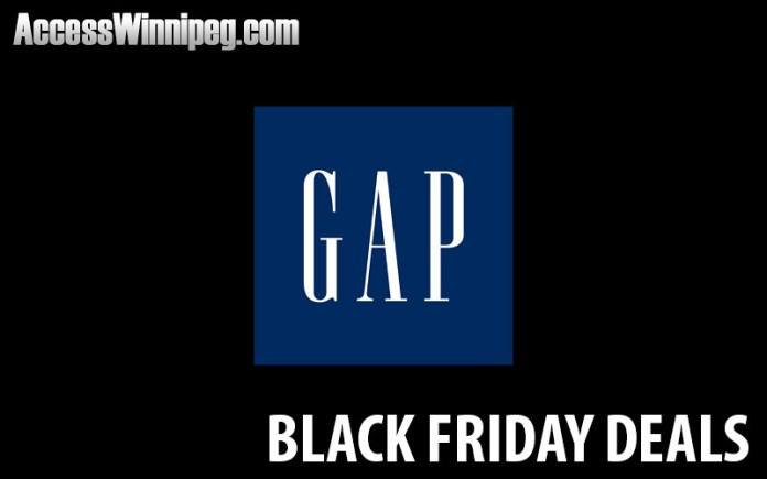 Gap Canada Black Friday Deals 2020