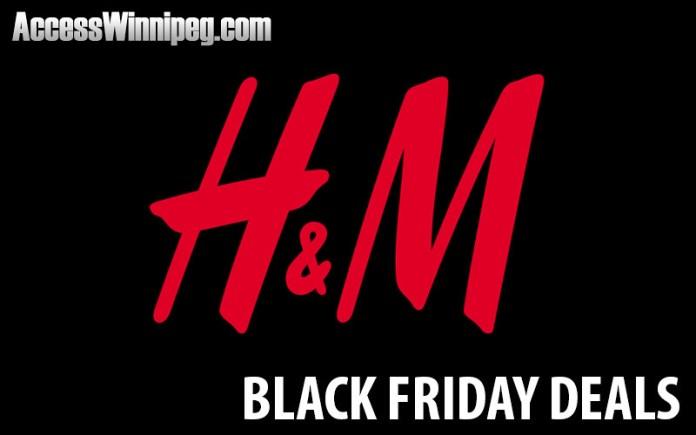 H&M Canada Black Friday Deals 2020
