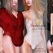 GIZ SEORN: Csilla Bodysuit & Shoulder Fur