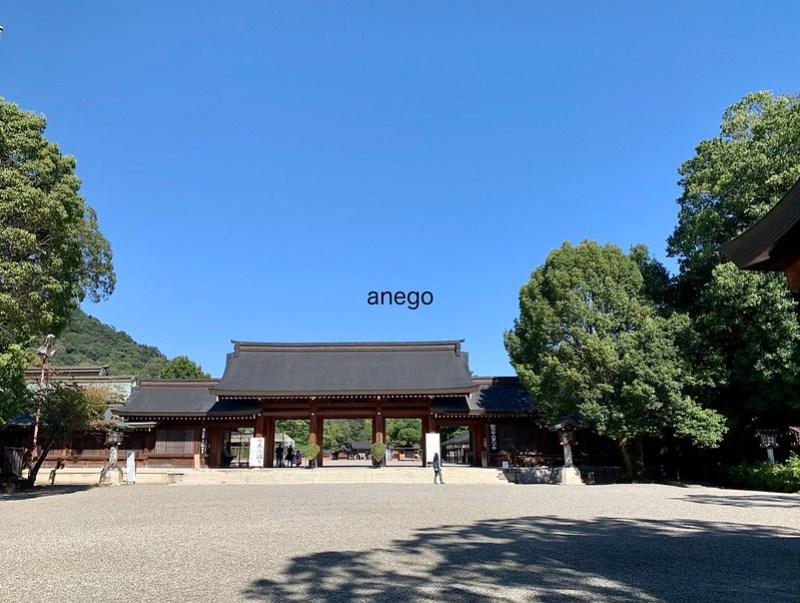 橿原神宮 本殿への門