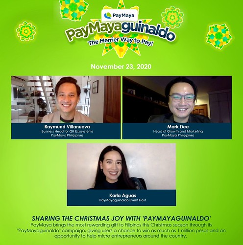 PayMayaguinaldo Partnership photo