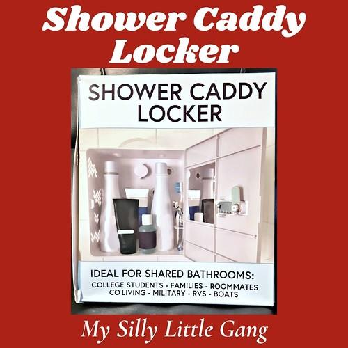 Shower Caddy Locker by Shlocker ~ Holiday Gift Idea #MySillyLittleGang