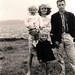 Thierry au Tréport avec ses parents et sa soeur