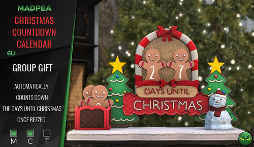Group Gift: MadPea Christmas Countdown Calendar