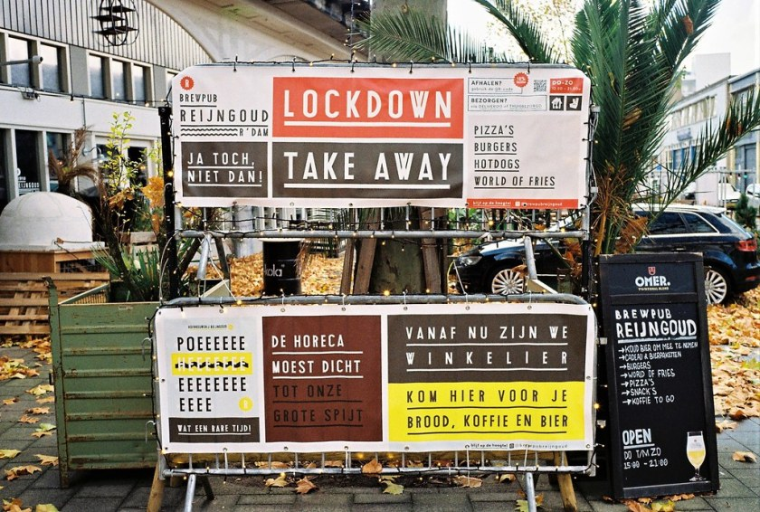 Rotterdam Daily Photo: Lockdown choices