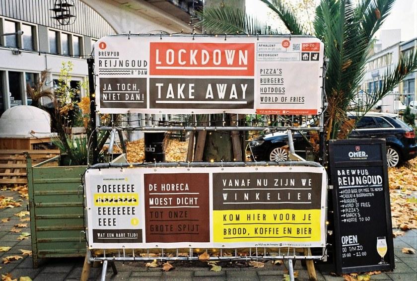 Rotterdam Daily Photo: Lockdown choices