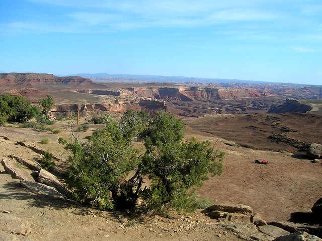 Murphy A campsite, White Rim Road, Island in the Sky, Canyonlands NP, UT by bryandkeith on flickr