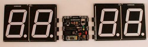 Bluetooth Controlled Digital Scoreboard based on Scoreduino-B (12)