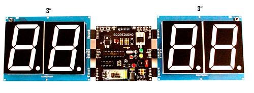 Bluetooth Controlled Digital Scoreboard based on Scoreduino-B (17)