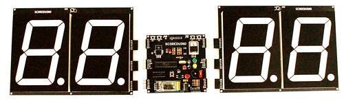 Bluetooth Controlled Digital Scoreboard based on Scoreduino-B (22)