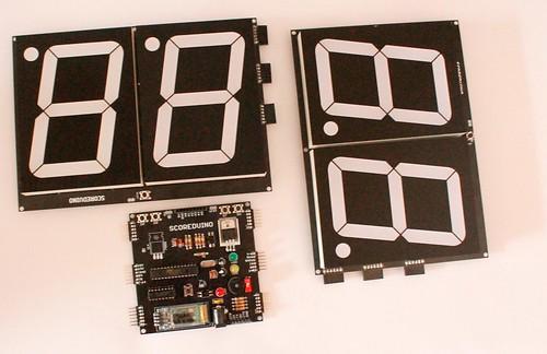 Bluetooth Controlled Digital Scoreboard based on Scoreduino-B (11)