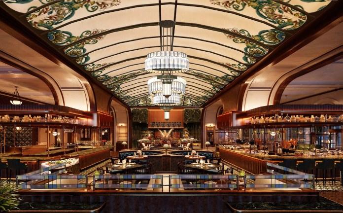 Churchill Table - Dining Area