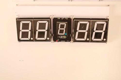 SCORE5 Arduino based Digital Scoreboard with Common anode Seven segments display (3)