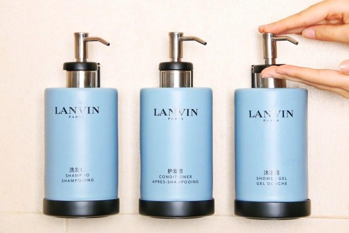 雅高酒店集團 Accor biodegradable solution at Sofitel luxury hotels with Lanvin (1)