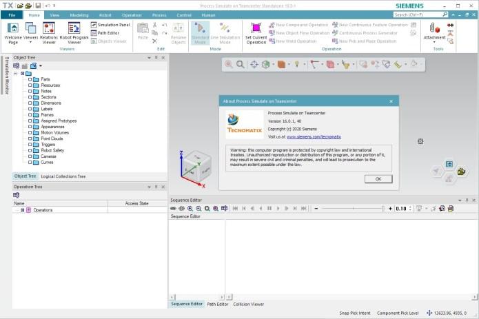 Working with Siemens Tecnomatix Process Simulate 16.0.1 full