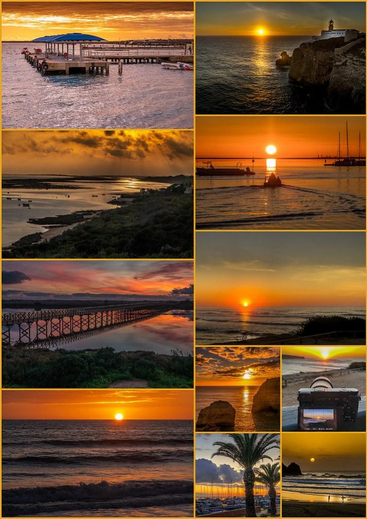 Sonnenuntergänge Algarve