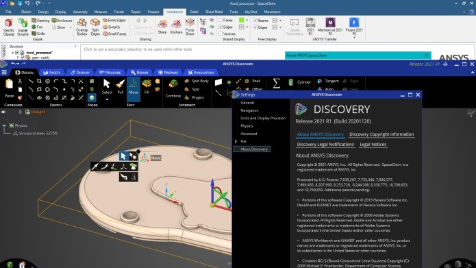 Working with ANSYS Discovery Ultimate 2021 R1 full license