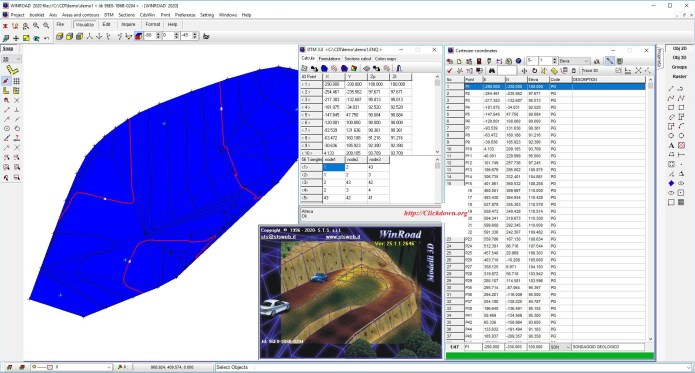 Working with S.T.S. WinRoad 2020 v25.1.1.2646 full