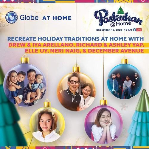 Globe At Home Paskuhan@Home