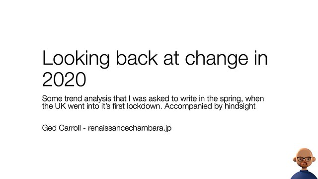 Looking back at change in 2020
