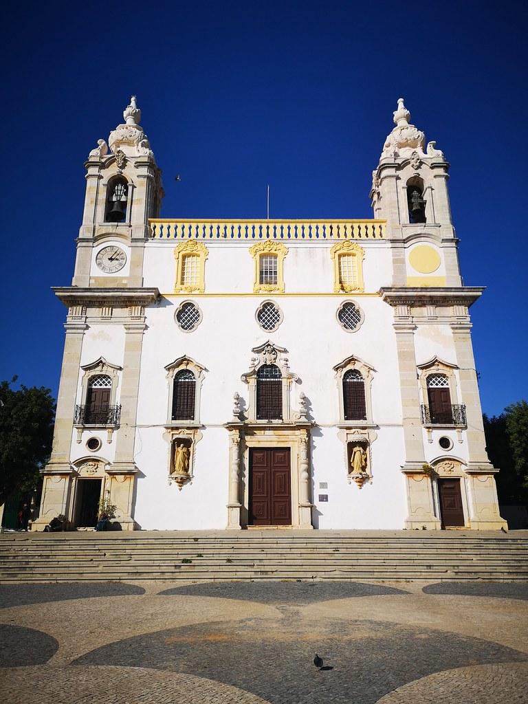 exterior Iglesia del Carmen o igreja do Carmo Faro Portugal