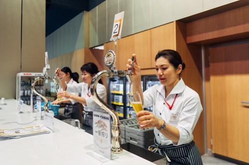Kirin Brewery Tour, Yokohama, Japan