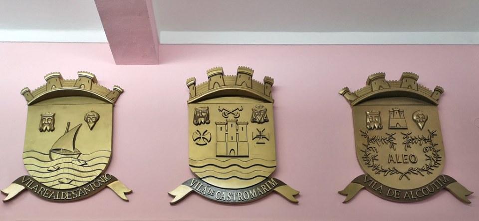 escudos de ciudades y pueblos de Portugal Museo Regional del Algarve Faro Portugal 06