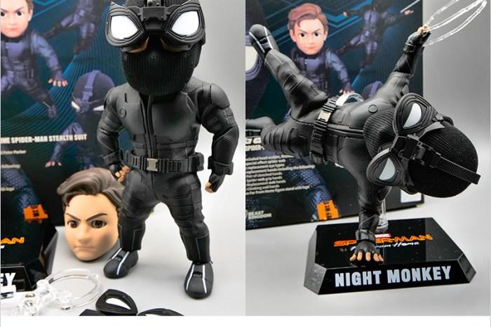 野獸國漫威公仔開箱   EAA-098蜘蛛人 離家日:蜘蛛人潛行戰衣,6吋可動人偶,仿皮革材質戰衣,質感爆好,值得收藏。