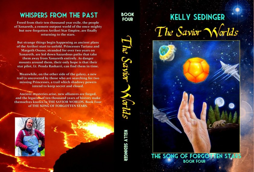 Full cover, THE SAVIOR WORLDS