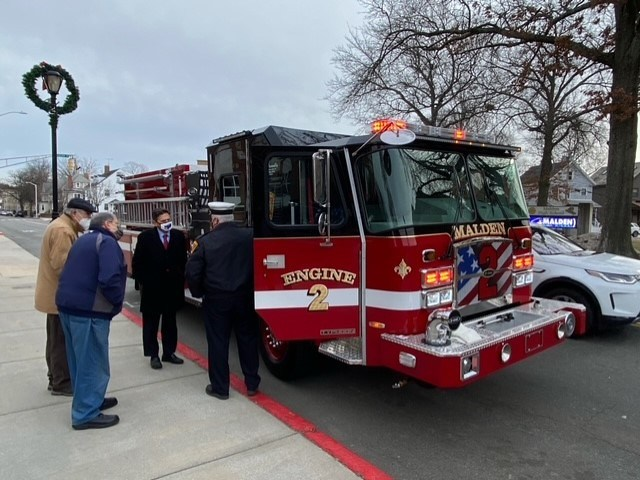 New Fire Engine - 2020