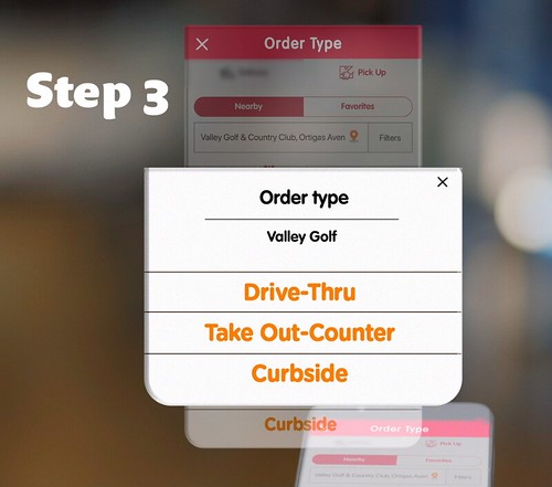 Jollibee Order and Pick Up