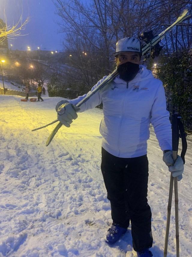 Pistas de esquí en Arganda del Rey