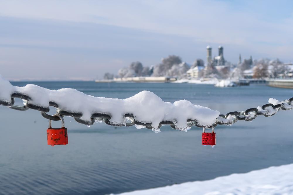 Schnee Spaziergang Friedrichshafen am Bodensee Januar 2021 hyyperlic-37