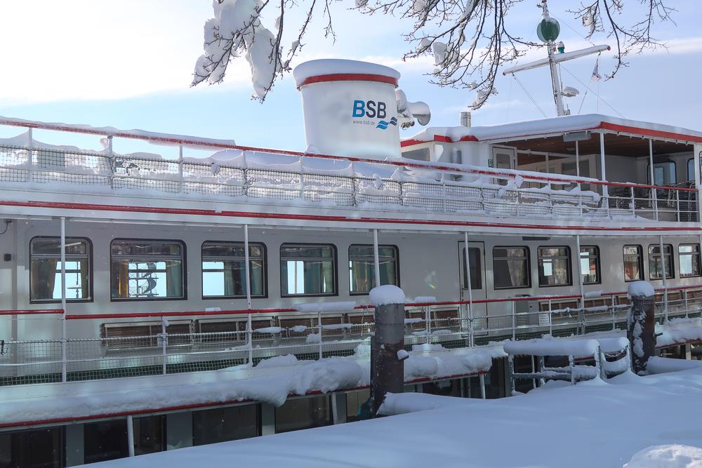 Schnee Spaziergang Friedrichshafen am Bodensee Januar 2021 hyyperlic-10