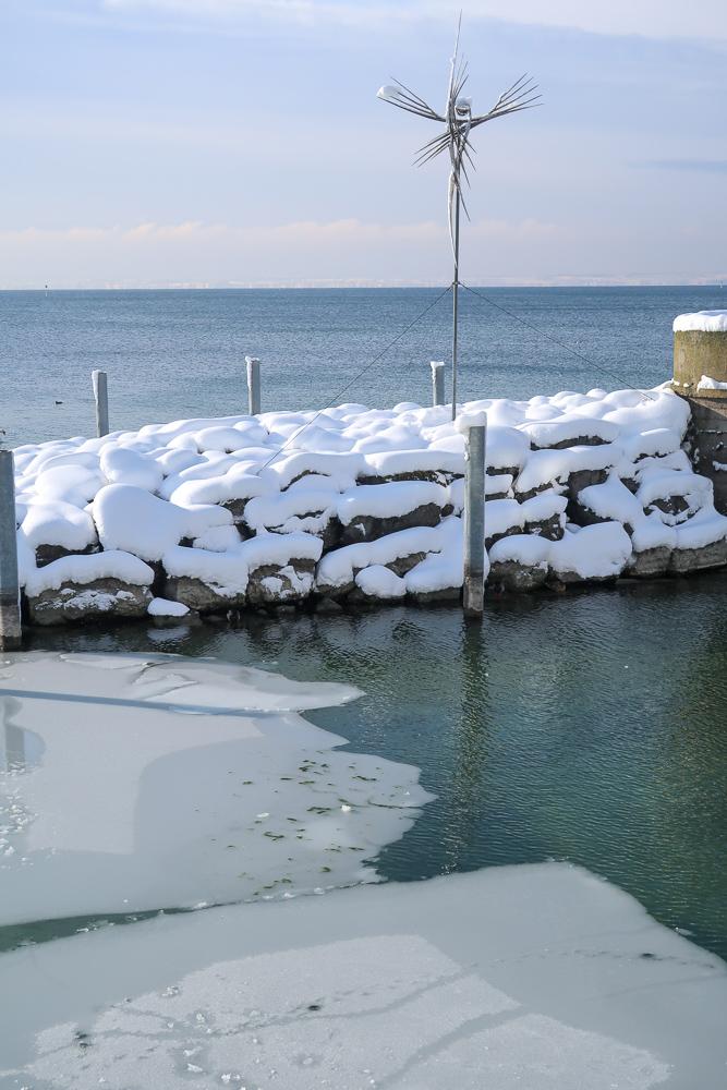 Schnee Spaziergang Friedrichshafen am Bodensee Januar 2021 hyyperlic-21